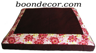 Boon Decor Meditation Cushion Floor Mat - Limited Edition Lotus Sanctuary Collection