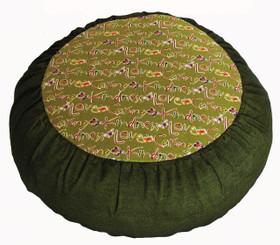 Boon Decor Meditation Cushion Pillow - Limited Edition Rare Find Fabric Zafu Loving Kindness