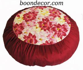 Boon Decor Lotus Meditation Cushion Zafu Pillow - Limited Edition SEE COLORS