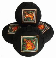Boon Decor Meditation Cushion Zafu Pillow Celestial Garden Cats Collection SEE CAT CHOICES