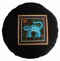 Boon Decor Meditation Cushion Zafu Pillow - Celestial Garden Cats Collection #9
