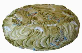 Boon Decor Children Meditation Cushion Zafu - Organic Cotton Print Butterflies In the Stream