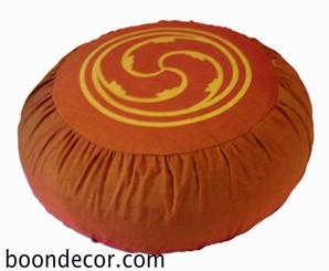Boon Decor Meditation Cushion Zafu Pillow Wheel of Joy SEE COLOR CHOICES