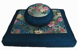 Boon Decor Meditation Cushion Zafu and Zabuton Set Ltd Edititon Empress Garden