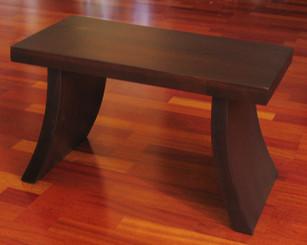 Boon Decor Zen Altar Or Accent Table Wood Veneer Walnut Finish