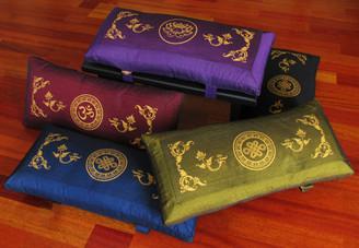 Boon Decor Meditation Bench Cushion for Seiza Sacred Symbols SEE COLORS and SYMBOLS