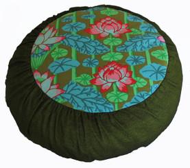 Boon Decor Meditation Pillow Limited Edition Zafu Lotus Lake Blossoms SEE COLORS
