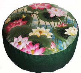 Boon Decor Meditation Pillow Buckwheat Kapok Cushion Lotus Lake Blossoms 7 loft SEE COLORS