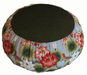 Boon Decor Meditation Cushion Zafu - One of a Kind Lotus Sanctuary
