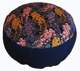 Boon Decor Meditation Cushion Combination Fill Zafu - Wisteria in the Breeze - Limited Edition