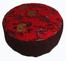 Boon Decor Meditation Cushion Buckwheat Kapok Fill Zafu Limited Edition 7 high SEE CHOICES
