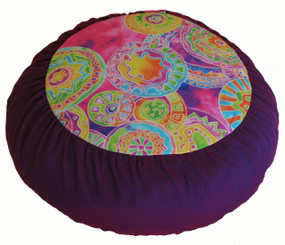 Boon Decor Meditation Cushion Zafu Pillow Limited Edition Oodles of Doodles SEE COLOR CHOICES