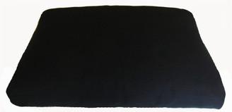 Boon Decor Meditation Cushion Floor Mat for Meditation Bench - Black Canvas