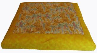 Meditation Cushion Floor Mat Limited Edition Zabuton Symphony in the Breeze Gold