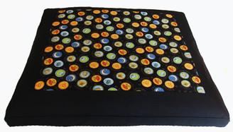 Boon Decor Meditation Cushion Floor Mat Limited Edition Zabuton Zen Harmony Black