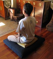 Boon Decor Meditation Low Rise or Sitting Cushion - Bench Cushion As Sitting Cushion on Zabuton