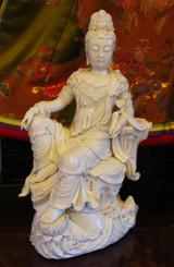 Boon Decor Kaun Yin - 14.5 Porcelain Statue