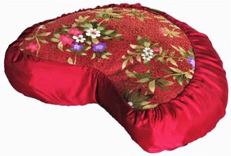 Boon Decor Meditation Cushion Crescent Zafu Pillow Japanese Kimono Silk PATTERNS and COLORS