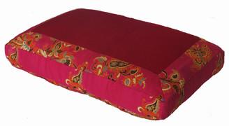 Boon Decor Meditation Pillow Sitting Cushion Butterflies Pink 18 x 12 x 4.5