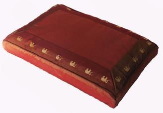 Boon Decor Meditation Cushion Pillow Sitting Zafu Elephant Walk Saffron