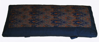 Boon Decor Backrest Support Cushion Global Ikat Blue SEE PATTERNS