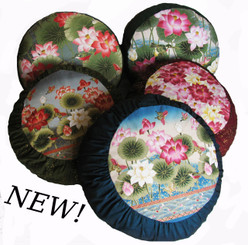 Boon Decor Meditation Cushion Zafu Pillow Ltd Edition Lotus Sanctuary SEE CHOICES
