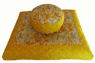Boon Decor Meditation Cushion Zabuton and Combination Zafu Set Symphony in the Breeze