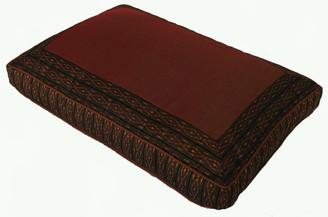 Boon Decor Meditation Low Rise Sitting Cushion Brown Global Weave