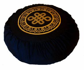 Boon Decor Meditation Cushion Zafu Pillow Buckwheat Fill Eternal Knot SEE COLORS