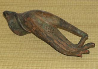 Boon Decor Hand of Buddha Bronze Antique Reproduction - Vitarka Mudra Teaching Gesture - Unmounted