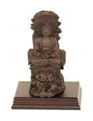 Boon Decor Buddha Figurine on High Lotus Seat - 4.75 high Resin