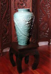 Boon Decor Celadon Floor Vase - 19