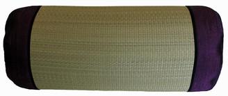 Boon Decor Bolster Pillow Tatami with Burmese Silk - Purple