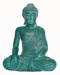 Boon Decor Buddha Statue - Earth Witness Mudra - 10 Resin SEE FINISHES