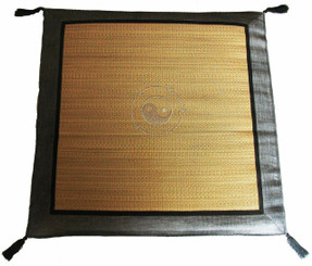 Boon Decor Japanese Zabuton Floor Cushion - Tatami and Silk Embroidered Feng Shui SEE COLORS