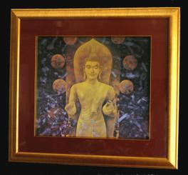 Boon Decor Framed Buddha Print - Wall Art by Sompop Budtarad Framed Middle Way