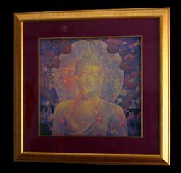 Boon Decor Framed Buddha Print - Wall Art by Sompop Budtarad Framed Naga Canopy