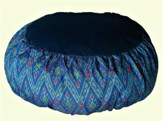 Boon Decor Meditation Cushion Zafu Pillow - Buckwheat Fill Global Ikat SEE COLORS
