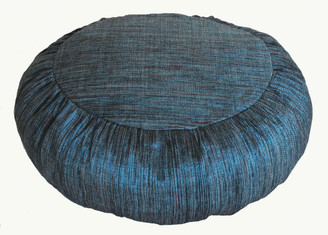 Boon Decor Meditation Cushion Buckwheat Zafu Pillow - Hand Loomed Silk - SEE COLORS