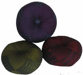 Boon Decor Gong Cushion - Global Weave Fabric - 10 Diameter