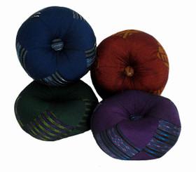 Boon Decor Gong Cushion - Global Weave Fabric 6 Diameter