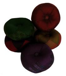 Boon Decor Gong Cushion - Global Weave Fabric 8 Diameter