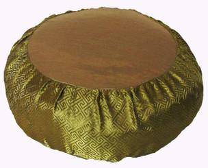 Boon Decor Meditation Cushion Zafu Pillow - Key Design Silk Brocade SEE COLORS