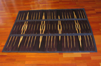 Boon Decor Tatami Mat - Tie-Dyed - Folding w/ Carry Handle 55 x 74