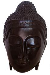Boon Decor Buddha Face Wall Plaque - Resin Buddha Face - 10 high x 7 wide