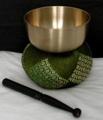 Boon Decor Singing Bowl Set - Spun Brass Rin Gong 4.2