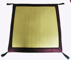 Boon Decor Japanese Zabuton Floor Cushion - Tatami and Silk 27 x 27 SEE COLORS