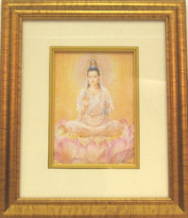 Boon Decor Quan Yin - Framed Picture - Limited Edition