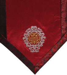 Boon Decor Altar Cloth Or Wall Hanging - Embroidered w/ Brocade Silk Trims - Long Life