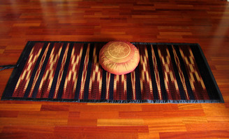 Boon Decor Tatami Roll-Up Mats - Traditional Ikat Patterns 38 x 70 SEE COLOR CHOICES